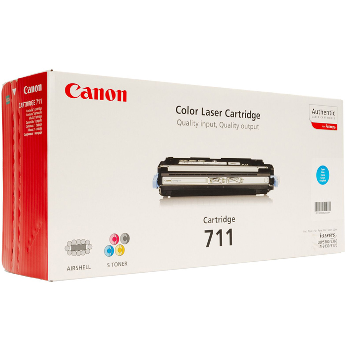 Картридж Canon 711 Cyan