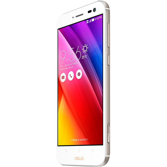 Смартфон 5.5″ ASUS ZenFone Zoom ZX551ML 128Gb 5.5″ белый ( 90AZ00X2-M00770 )