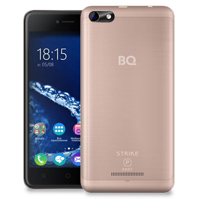 Смартфон BQ Mobile BQ-5058 Strike Power Easy SE Gold Matt