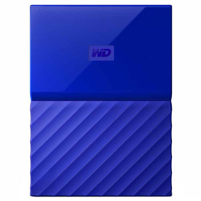 Внешний жесткий диск USB3.0 2.5″ 1.0Тб WD My Passport ( WDBBEX0010BBL-EEUE ) Синий