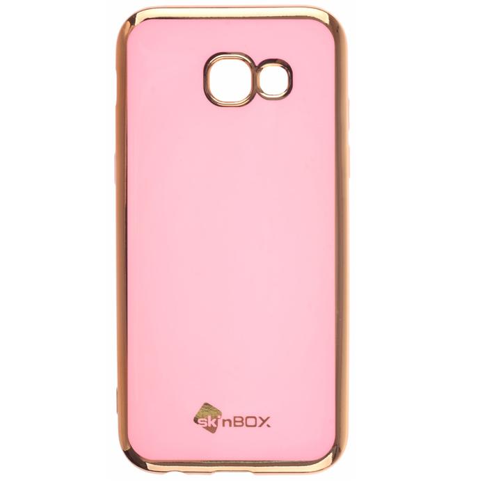 Чехол SkinBox Силиконовая накладка для Samsung Galaxy A5 (2017) SM-A520F, пудра