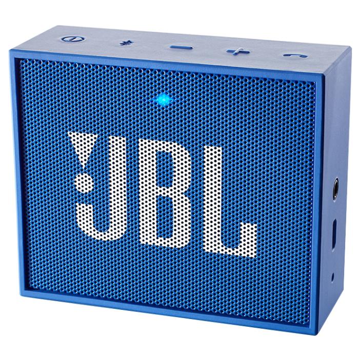 Акустическая система JBL Go, синяя