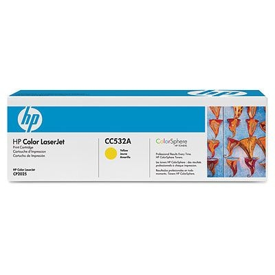 Картридж HP CC532A Yellow