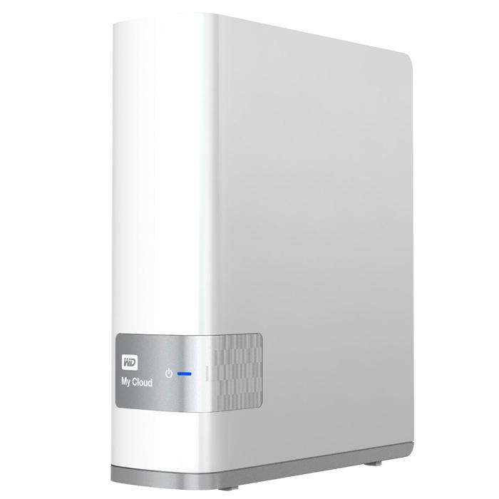 Внешний жесткий диск LAN 3.5″ 6.0Тб WD My Cloud ( WDBCTL0060HWT-EESN ) Белый