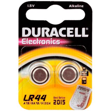 Батарейки Duracell LR44-2BL CR2015 (L1154) 2шт