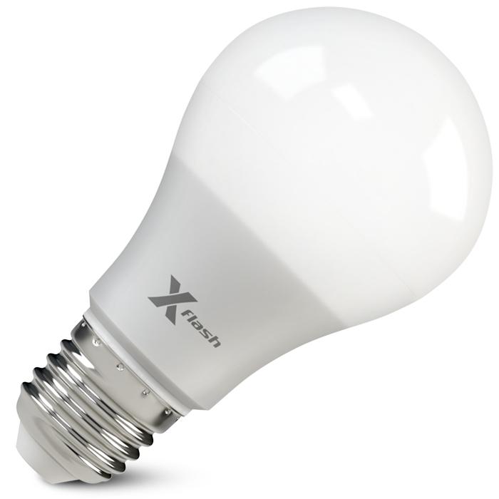 Светодиодная LED лампа X-flash Smart A60 E27 10W 220V желтый свет, Gradual Free Dimming
