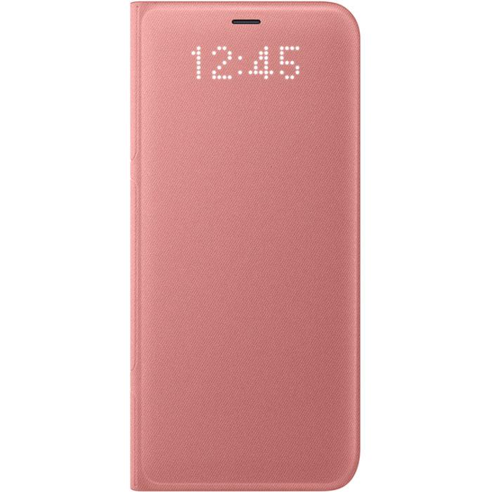 Чехол Samsung LED View Cover для Samsung Galaxy S8 SM-G950, розовый