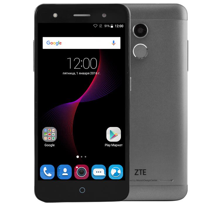 Смартфон ZTE Blade V7 Lite 4G серый