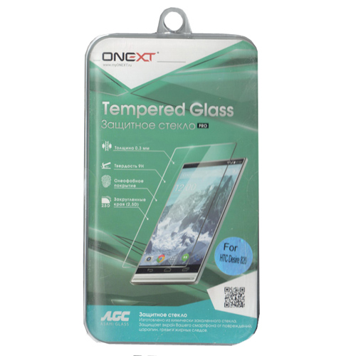 Защитное стекло Onext для HTC Desire 820