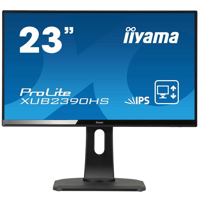 Монитор ЖК Iiyama ProLite XUB2390HS-B1 23″ black VGA DVI HDMI