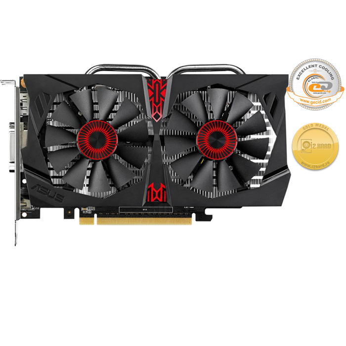 Видеокарта PCI-E ASUS GeForce GTX 750 Ti 2048Mb, GDDR5 ( Strix-GTX750TI-OC-2GD5 ) Ret