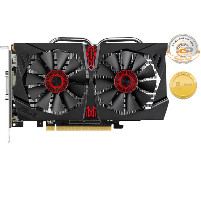 Видеокарта PCI-E ASUS GeForce GTX 750 Ti 2048Mb, GDDR5 ( Strix-GTX750TI-OC-2GD5 ) Ret