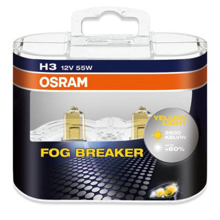 Лампа  OSRAM H3 55W Fog Breaker 2 шт.