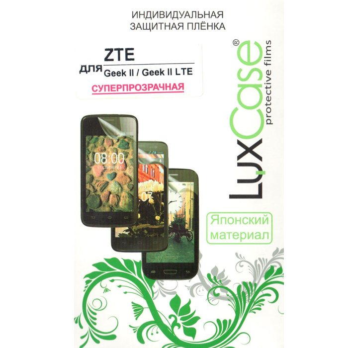 Защитная плёнка LuxCase для ZTE Geek 2, суперпрозрачная