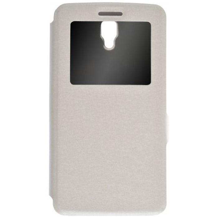 Чехол PRIME Book-case для Lenovo A2010 белый