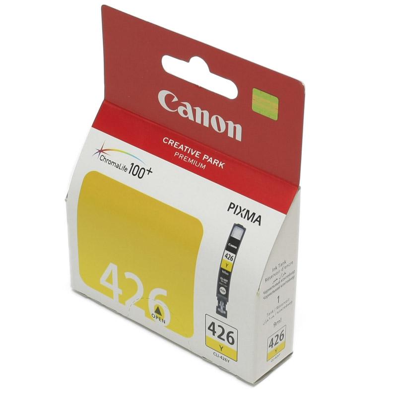 Картридж Canon CLI-426Y Yellow