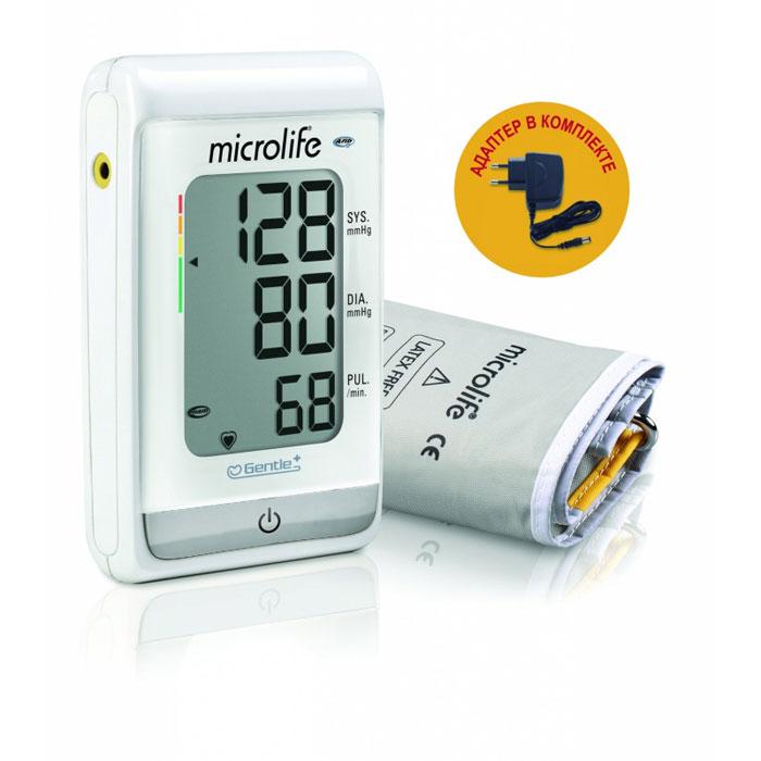 Тонометр автоматический компактный Microlife BP A150 Afib с функцией выявления риска инсульта (M-L), адаптер