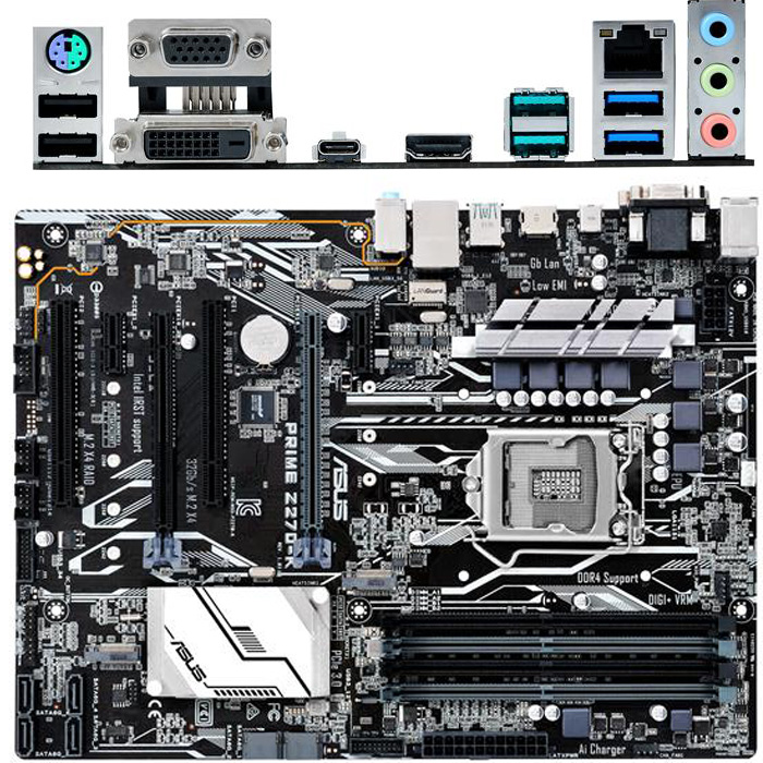 Материнская плата ASUS Z270 LGA1151 DDR4 ( Prime Z270-K ) ATX, Ret