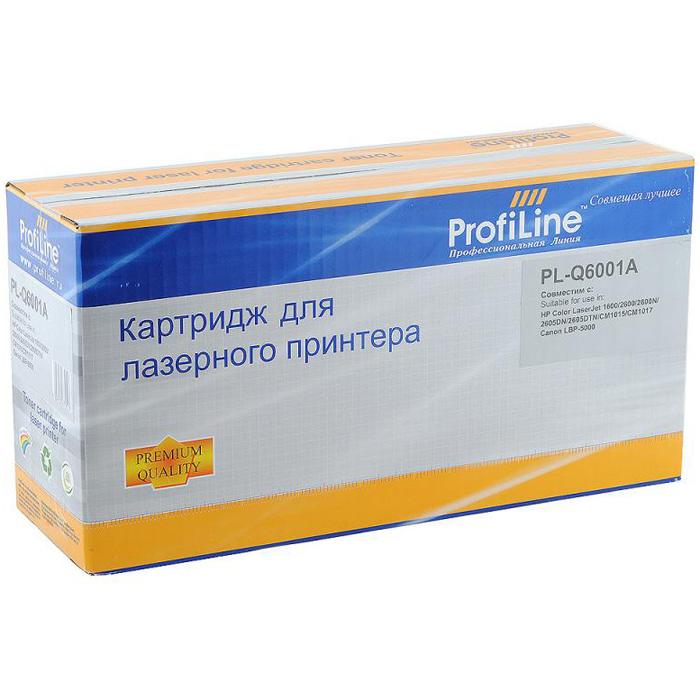 Картридж ProfiLine PL- Q6001A Cyan