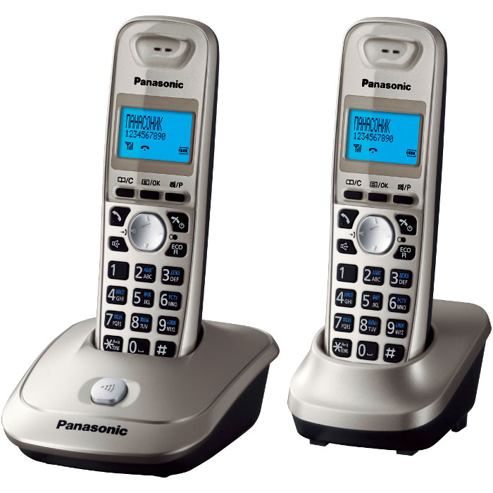 Телефон Dect Panasonic KX-TG2512RUN