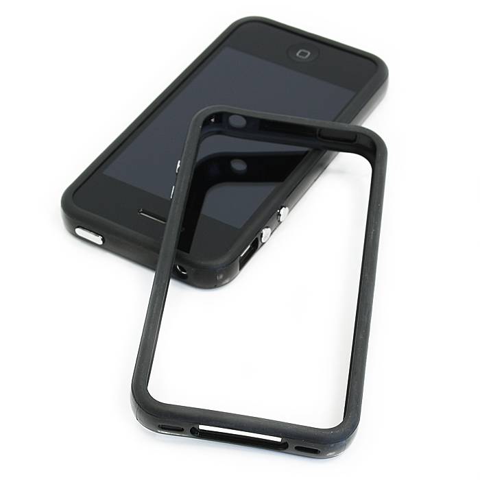 Бампер для iPhone 4 /iPhone 4S Bagspace бампер черный
