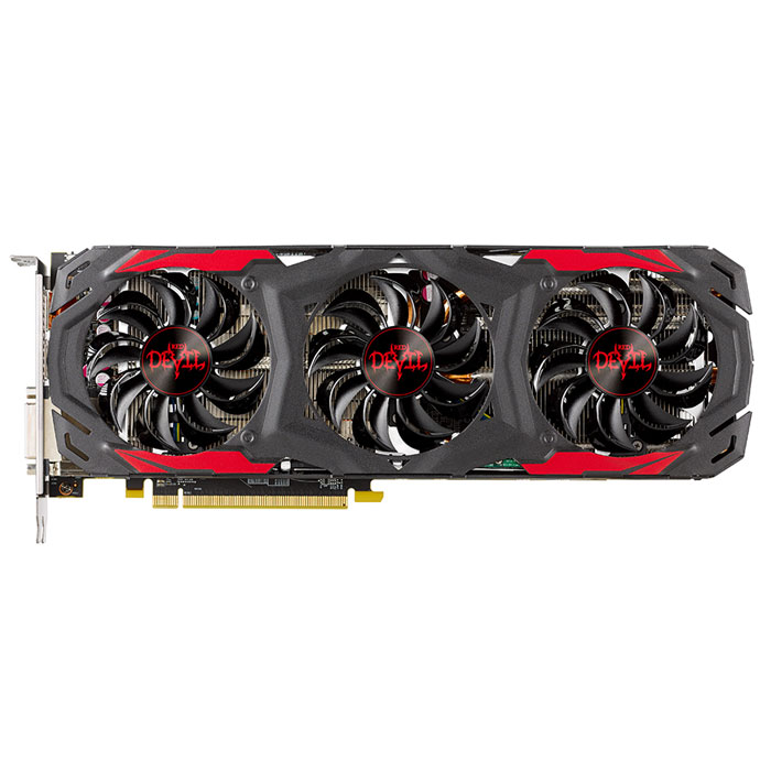 Видеокарта PCI-E PowerColor ATI Radeon RX 570 Red Devil 4096Mb DDR5 ( AXRX 570 4GBD5-3DH/OC ) Ret