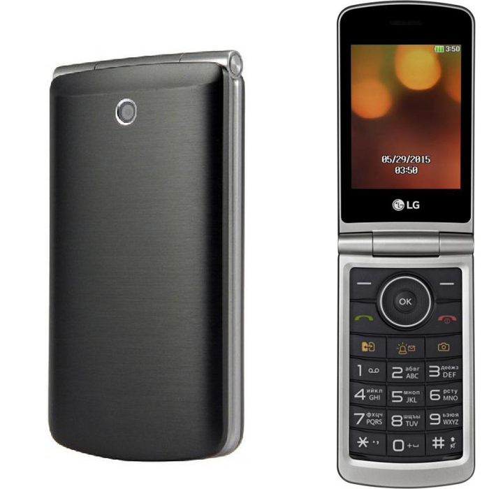 Телефон LG G360 титан