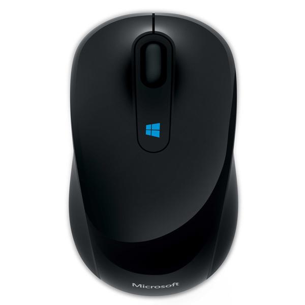 Мышь Microsoft Sculpt Mobile Mouse Black USB ( 43U-00004 ) оптическая, беспроводная