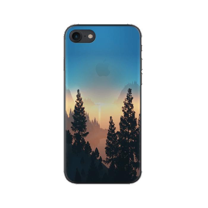Чехол Deppa Art Case с пленкой для iPhone 7, Nature, Озеро