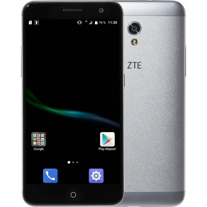 Смартфон ZTE Blade V7 серый