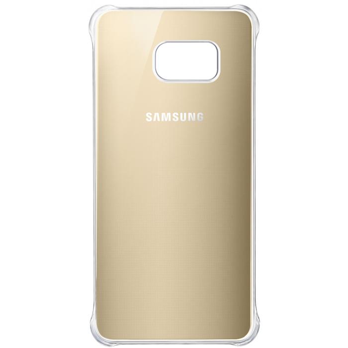 Чехол Samsung Glossy Cover для G928 Galaxy S6 Edge Plus, золотистый