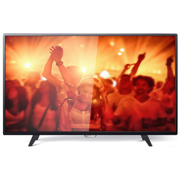 Телевизор ЖК 43″ Philips 43PFT4001/60 черный