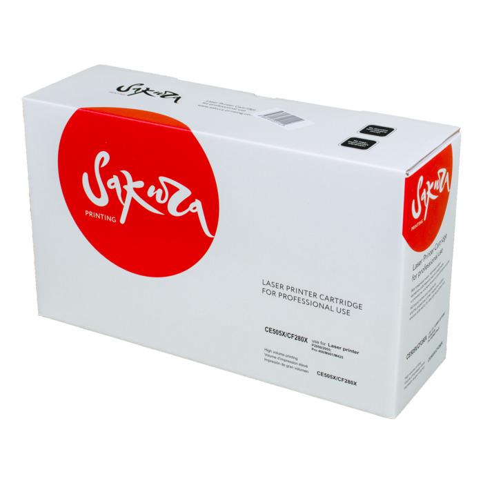 Картридж Sakura CE505X/CF280X