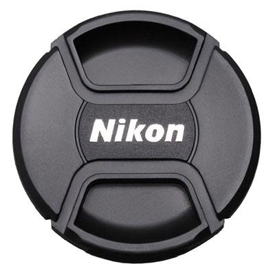 Крышка для объективов Fujimi с надписью Nikon 52мм