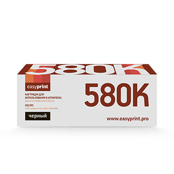 Картридж EasyPrint GP-LK-580K Black (TK-580K)
