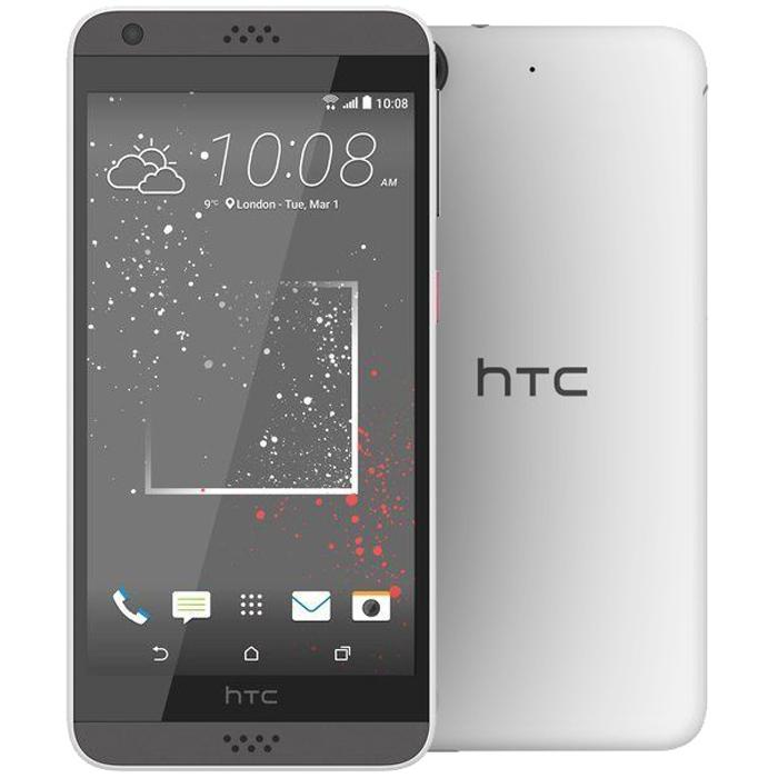 Смартфон HTC Desire 530 Stratus White