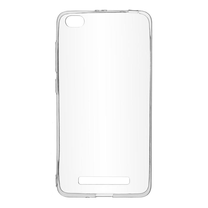 Чехол SkinBox 4People Slim Silicone case для Xiaomi Redmi 4A, прозрачный