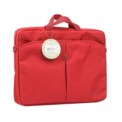 Сумка для ноутбука 15.6″ Continent CC-01, нейлоновая, красная