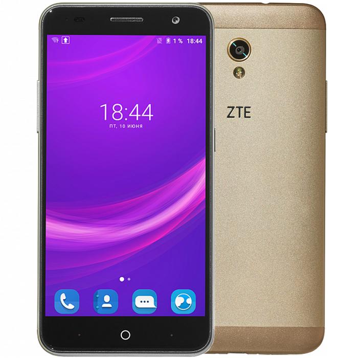 Смартфон ZTE Blade V7 золотой