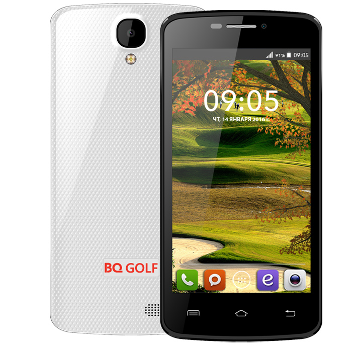 Смартфон BQ Mobile BQS-4560 Golf White