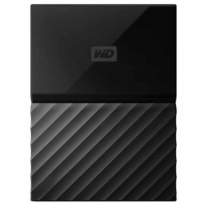 Внешний жесткий диск USB3.0 2.5″ 1.0Тб WD My Passport ( WDBBEX0010BBK-EEUE ) Черный