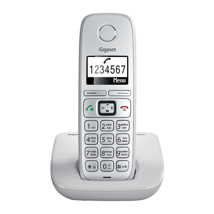 Телефон Dect Siemens E310 light grey