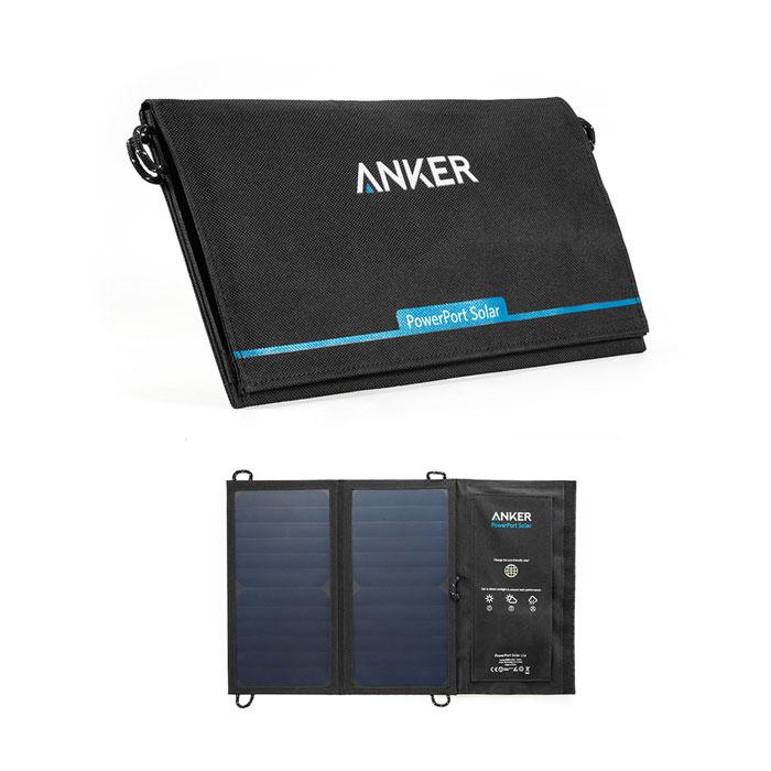 Зарядное устройство на солнечных батареях Anker PowerPort Solar A2422011 черный