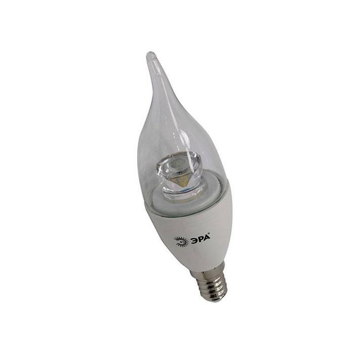 Светодиодная лампа ЭРА BXS E14 7W 220V Clear белый свет