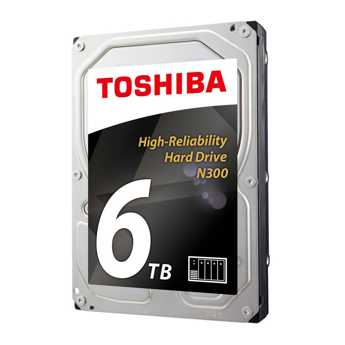 Жесткий диск 3.5″ SATA3 6.0Тб Toshiba N300, 7200rpm 128mb ( HDWN160UZSVA ) OEM