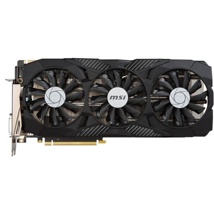 Видеокарта PCI-E MSI GeForce GTX 1070 8192Mb, Duke 8G OC GDDR5X Ret