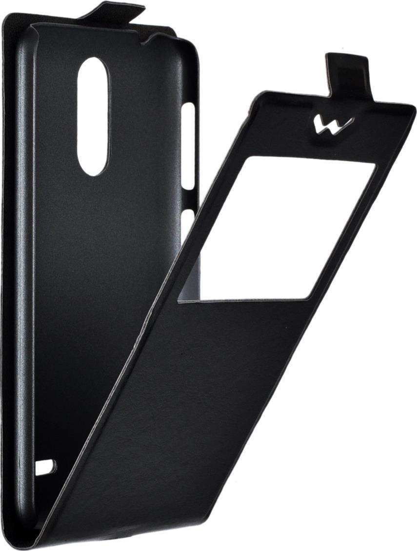 Чехол SkinBox Slim AW для ZTE Blade X5, черный