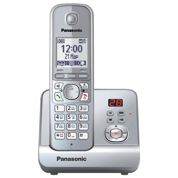 Телефон Dect Panasonic KX-TG6721RUS