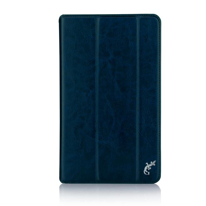 Чехол для Lenovo Tab 3 Plus TB-8703X/8703F, G-case Executive, эко кожа, темно-синий