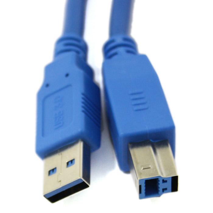 Кабель USB3.0 Am-Bm 1.8м <> .